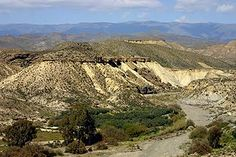 Tabernas, Almeria, Spain - land of the Good Bad & The Ugly - great for Geology field trips !!!!