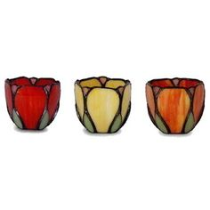 Glass covered wall candle holders - floral wicker furniture cushions