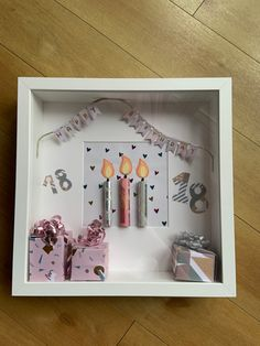 Origami, Holiday Decor, Birthday, Frame, Scrapbooking, Gifts, Baby, Presents, Diy Gifts