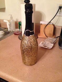 бутылка из под шампанского в очко рассказе