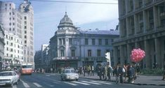 Calea Victoriei anii 70 Timeline Photos, Time Travel, Alter, Romania, Over The Years, The Past, 1970, Street View, America
