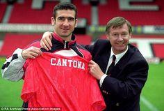 Alex Ferguson & Eric Cantona, Manchester United