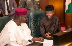 Vice-President, Yemi Osinbajo, on Wednesday, again represented President Muhammadu Buhari,at the Federal Executive Council, FEC, meeting.    Although reports claimed that Buhari's itinerary for the week shows he will be available for the meeting, Osinbajo stood in.    Two