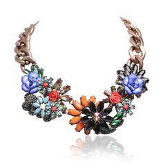 Trendy Exaggerated Flower Jewelry – Jane Stone