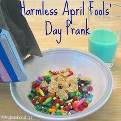 Harmless April Fools' Prank