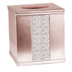 Chic Irie Tissue Box Cover by Willa Arlo Interiors top rated furniture sale from top store Pink Bathroom Decor, Silver Bathroom, Bathroom Ideas, Bathroom Stuff, Bathroom Designs, Custom Shower Curtains, Fabric Shower Curtains, Tissue Box Covers, Tissue Boxes
