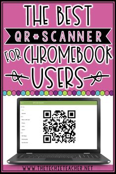 The Best QR Code Scanner/Reader for Chromebook and Computer Users, Educational Technology, Teaching Technology, Educational Technology, Technology Integration, Teaching Biology, Business Technology, Education Quotes For Teachers, Teacher Blogs, Teacher Apps, Qr Code Scanner