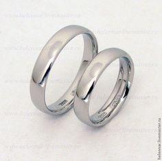Купить Обручальные кольца из платины - свадьба, платина, кольца, обручальные…