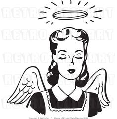 Google Image Result for http://retroclipart.co/1024/royalty-free-black-and-white-retro-vector-clip-art-of-a-female-angel-with-wings-and-a-halo-by-bestvector-2150.jpg