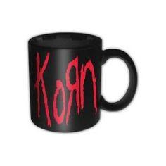 Korn Logo Box Mug - Sip your hot drinks in nu metal style with this Korn Logo Box Mug. Boxed for easy gifting.
