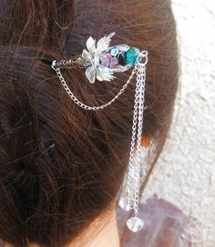 another cool metal hair stick