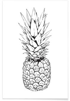 Pineapple VON Letters on Love now on JUNIQE!
