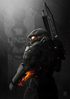 HALO 4 x Battlefield by *MarcWasHere on deviantART