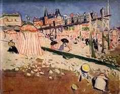 The 1913 Armory Show (Gallery H): Sainte Adresse, Albert Marquet
