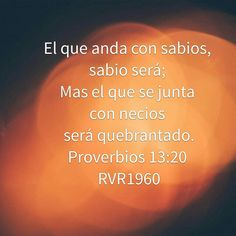 Proverbios 13:20