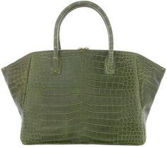 VBH Crocodile leather tote - Polyvore