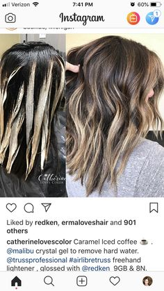 Redkin Hair Color, Hair Foils, Redken Hair Products, Hair Color Formulas, Teased Hair, Hair Painting, Love Hair, Hair Highlights, Balayage Hair