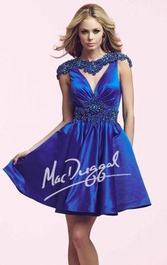 Embellished Dress by Mac Duggal Homecoming 48194N