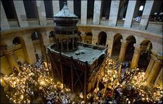 Jerusalem's Holy Sepulchre church, believed to be the site of the burial of Jesus Christ,