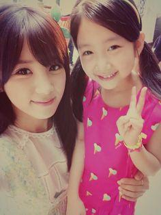 chorong with littile girl Panda Eyes, Pink Panda, Chubby Cheeks, Find Picture, Asian Girl, Korea, Cute, Girls, Artists
