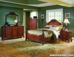 Antique Bedroom Furniture Makeover Ideas For 2019 Bedroom Furniture Makeover, Painted Bedroom Furniture, Home Decor Bedroom, Furniture Design, Kitchen Furniture, Bedroom Ideas, Master Bedroom, Cozy Bedroom, White Furniture