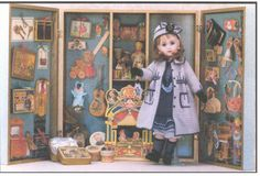 french presentation antique box toys | ... shows you what you can achieve with the wood box and Jean's Workbook