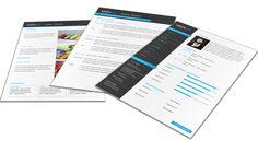 Zakelijk Portfolio CV format 401. Volledig in Microsoft Word voor elke functie zelf aan te passen.