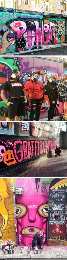 An Oakland-Based Graffiti Camp That's Just For Girls