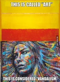 """Art"" vs ""Vandalism"""