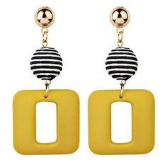 Cheap Earrings, Dainty Earrings, Round Earrings, Beautiful Earrings, Women's Earrings, Diamond Earrings, Earrings Online, Geometric Jewelry, Modern Jewelry