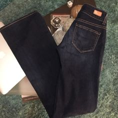 Paige flare jeans New condition super cute Paige flare jeans size 25 inseam 32 PAIGE Jeans Flare & Wide Leg