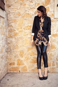 I want leather pants