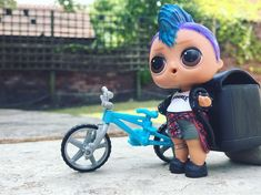 Punk Boi is about to go out on his bike What are you up to today? We cannot wait for the new Lol Boy series to come out x #lolsurprise #lolpunkboi