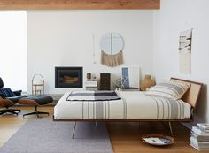 Day and Night beds by George Nelson. Lightweight bed frame.