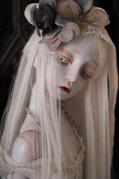 Translucent Porcelain Royalton China Co Anime Dolls, Ooak Dolls, Doll Head, Doll Face, Porcelain Doll Makeup, Porcelain Jewelry, Enchanted Doll, Gothic Dolls, Creepy Dolls