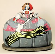 Equipo Crónica. Escultura de la Infanta Margarita.
