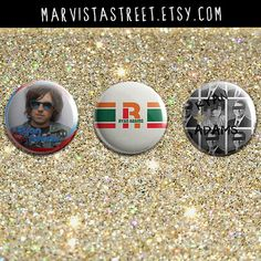 Hey, I found this really awesome Etsy listing at https://www.etsy.com/listing/226086171/ryan-adams-set-of-three-1-inch-pin-back