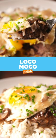 If you haven't had Loco Moco, you haven't lived. Get the recipe from Delish.com.