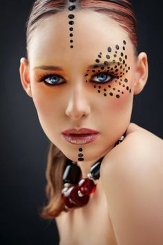 Make up for carnival: 76 inspiring examples of the perfect carnival look, make up carnival ideas make up carnival. Makeup Inspo, Makeup Art, Makeup Inspiration, Beauty Makeup, Eye Makeup, Hair Makeup, Makeup Ideas, Makeup Geek, Crazy Makeup