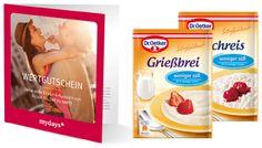 Dr. Oetker Paket & mydays Gutschein