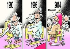 How Modi Screwed Advani