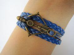 Combined Bracelet / Antiqud Bronze Disney Brave by WearingPretty, $3.99