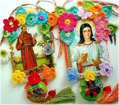 imagenes religiosas con crochet