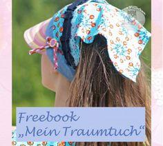 Freebook Mein Traumtuch - Kopftuch mit Schirm