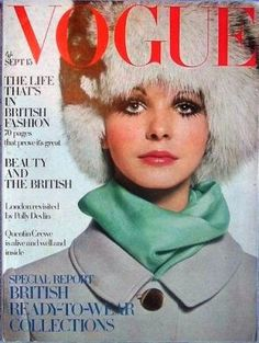 Vintage Vogue magazine covers - mylusciouslife.com - Vintage Vogue UK September 1968-Maudie James.jpg