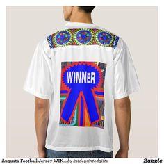 Augusta Football Jersey WINNER DESIGNER TEE's Gift