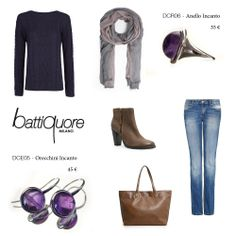 Battiquore Milano | Outfit Idea with Incanto's Earrings and Ring