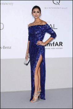 cannes 2012. Nina Dobrev, Elie Saab dressed!