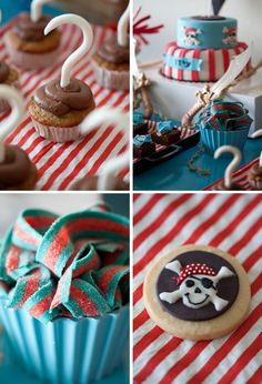 captain hook cupcakes