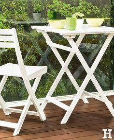 Epic Ein Klapptisch perfekt f r ein sommerfr hst ck zu zweit balkon tisch m bel idee inspiration Garten Balkon Pinterest Ein and Inspiration